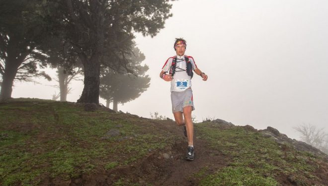 Ryan Sandes en la The North Face Transgrancanaria 2014