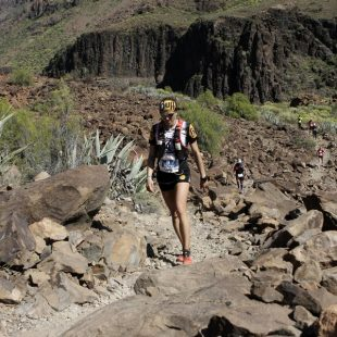 Nuria Picas en la The North Face Transgrancanaria 2014