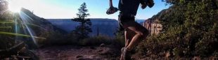 Jim Walsmley en el Grand Canyon R2R2R