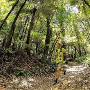 Courtney Dauwalter en la Tarawera Ultramarathon 2019